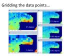 gridding the data points