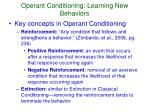 operant conditioning learning new behaviors1