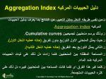aggregation index