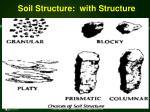 soil structure with structure