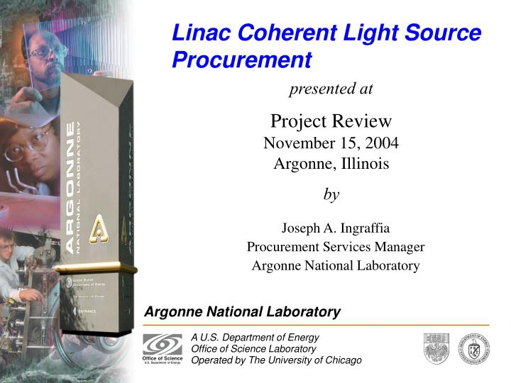 linac coherent light source procurement n.