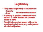 legitimacy