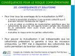 iii cons quences et solutions la mutualisation 2