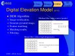 digital elevation model 8 10