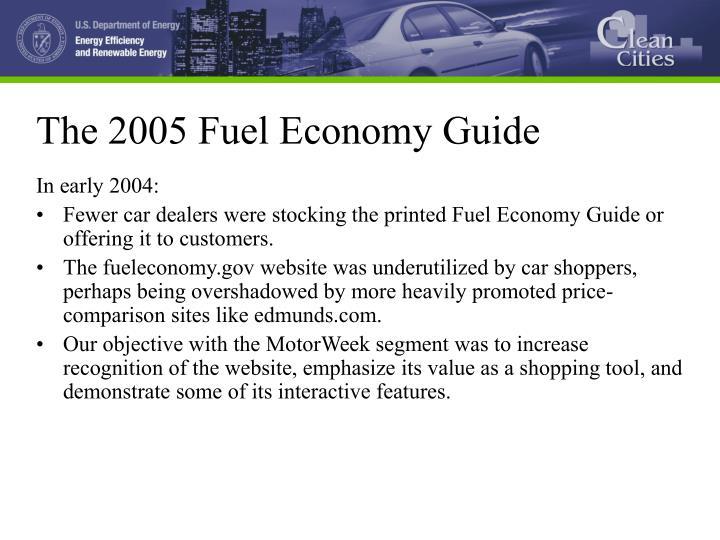 ppt dave scrivener producer motorweek powerpoint presentation id rh slideserve com MPG Calculator Labeled Fuel Economy