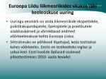 euroopa liidu liikmesriikides viiakse l bi keeleoskuse uuring