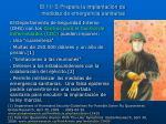 el 11 s prepara la implantaci n de medidas de emergencia sanitarias
