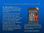 premios nobel disidentes de la hip tesis oficial del sida1