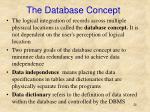 the database concept