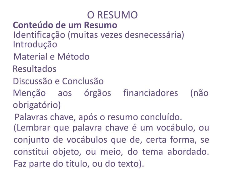 PPT - METODOLOGIA DO TRABALHO CIENTÍFICO PowerPoint Presentation ...