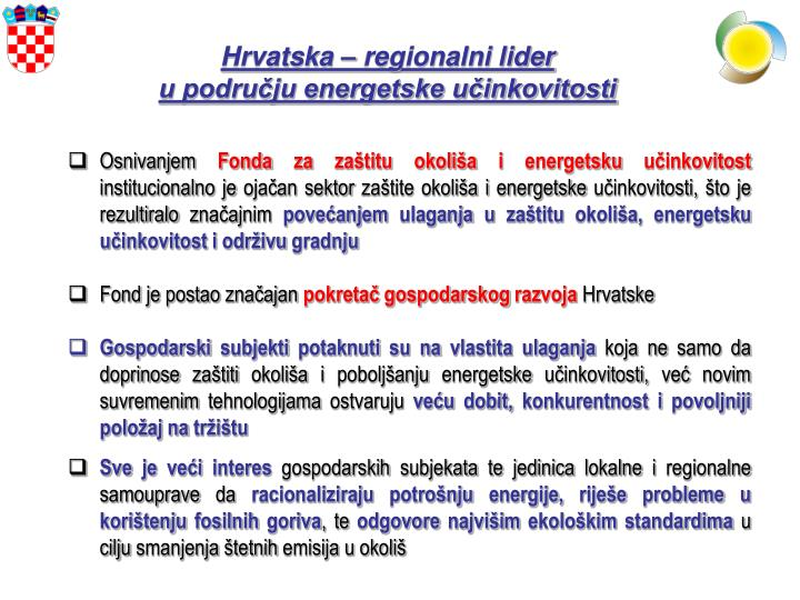 Hrvatska – regionalni lider
