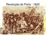 revolu o do porto 1820