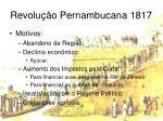 revolu o pernambucana 1817