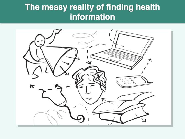 The messy reality of finding health information