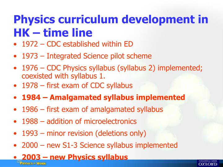 physics syllabus dissection topic 4 Oberlin college physics 212 syllabus for fall 2018 learning goals: through your work in this course, you will acquire an introductory but firm understanding of concepts and techniques in relativistic dynamics, classical waves, and quantum mechanics apply this understanding and these techniques.