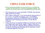 china task force