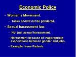 economic policy1