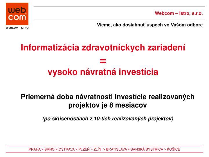 Webcom – Istro, s.r.o.