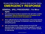biological safety training certificate holder and user training emergency response4