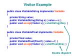 visitor example1