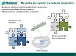 metodika pre syst m na riadenie programov
