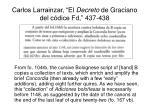 carlos larrainzar el decreto de graciano del c dice fd 437 438