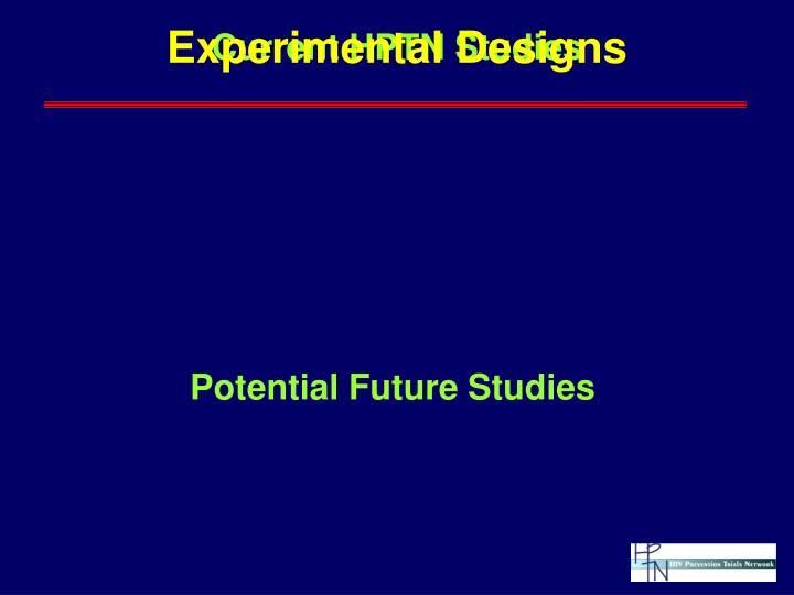 Current HPTN Studies