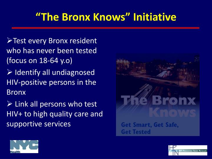 """The Bronx Knows"" Initiative"