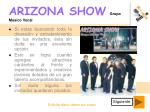 arizona show grupo m sico vocal