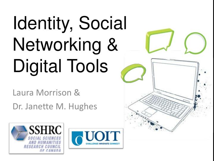 identity social networking digital tools n.