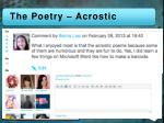 the poetry acrostic1