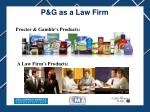 p g as a law firm