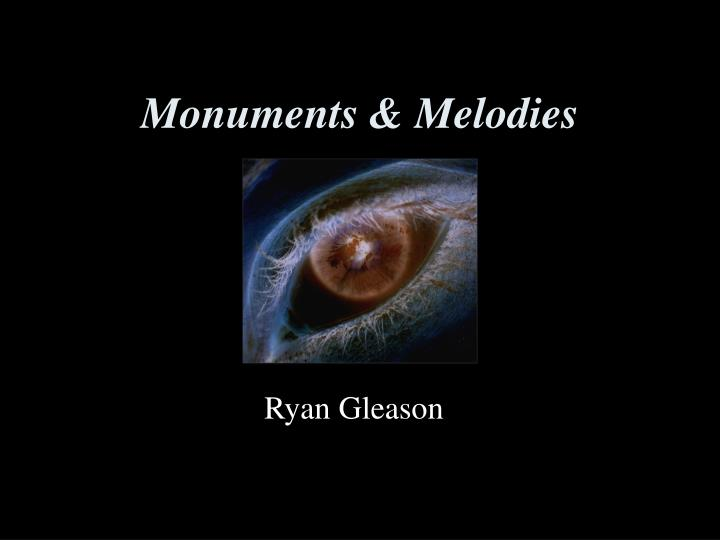 monuments melodies n.