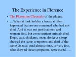 the experience in florence2