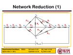 network reduction 1