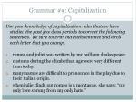 grammar 9 capitalization
