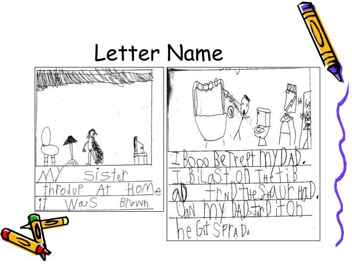 Letter Name
