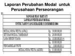laporan perubahan modal untuk perusahaan perseorangan