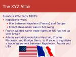 the xyz affair
