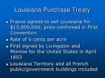 louisiana purchase treaty