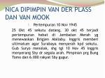nica dipimpin van der plass dan van mook