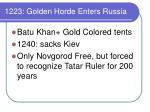 1223 golden horde enters russia