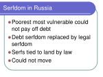 serfdom in russia1
