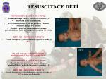 resuscitace d t
