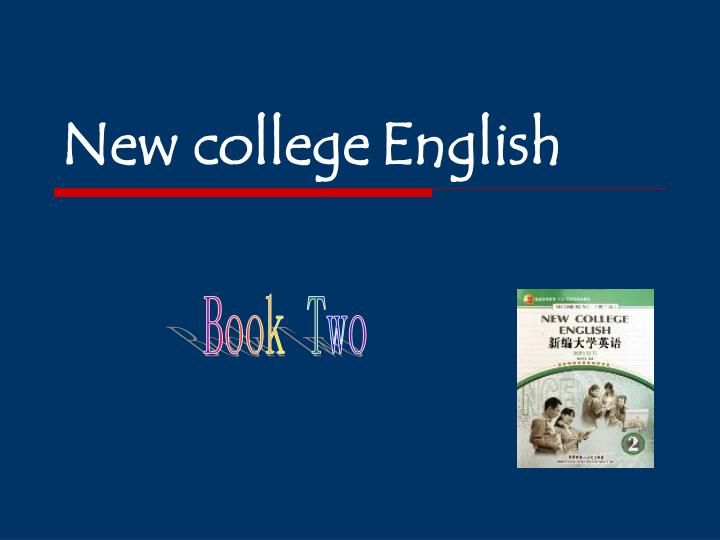 new college english n.
