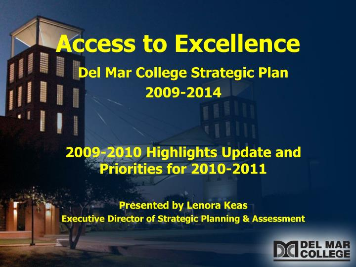 access to excellence n.