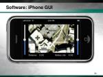 software iphone gui2