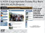lago large aperture gamma ray burst helen alfa projects