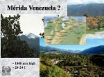m rida venezuela