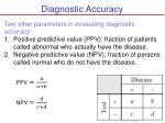 diagnostic accuracy1